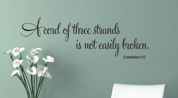 3 strands